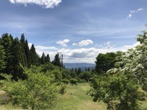 キャンプベースからの眺めは良好!